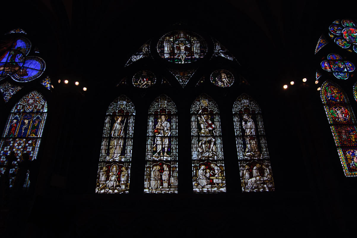 Stained glass windows are a lost art