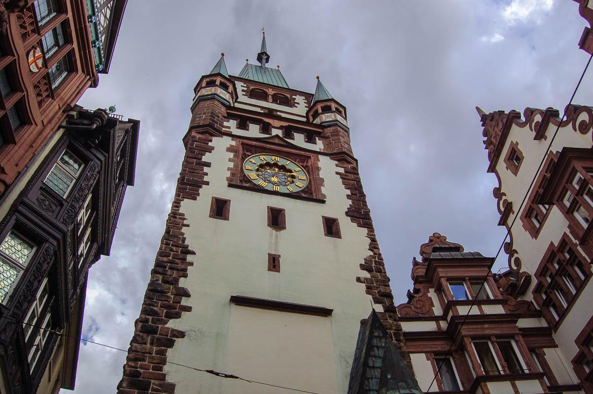 Freiburg town clock