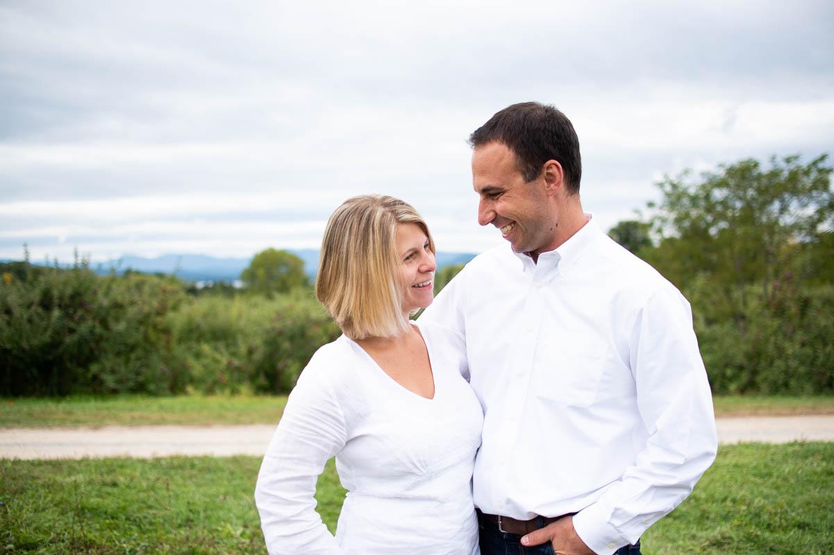 shelburne orchard vermont couples portrait