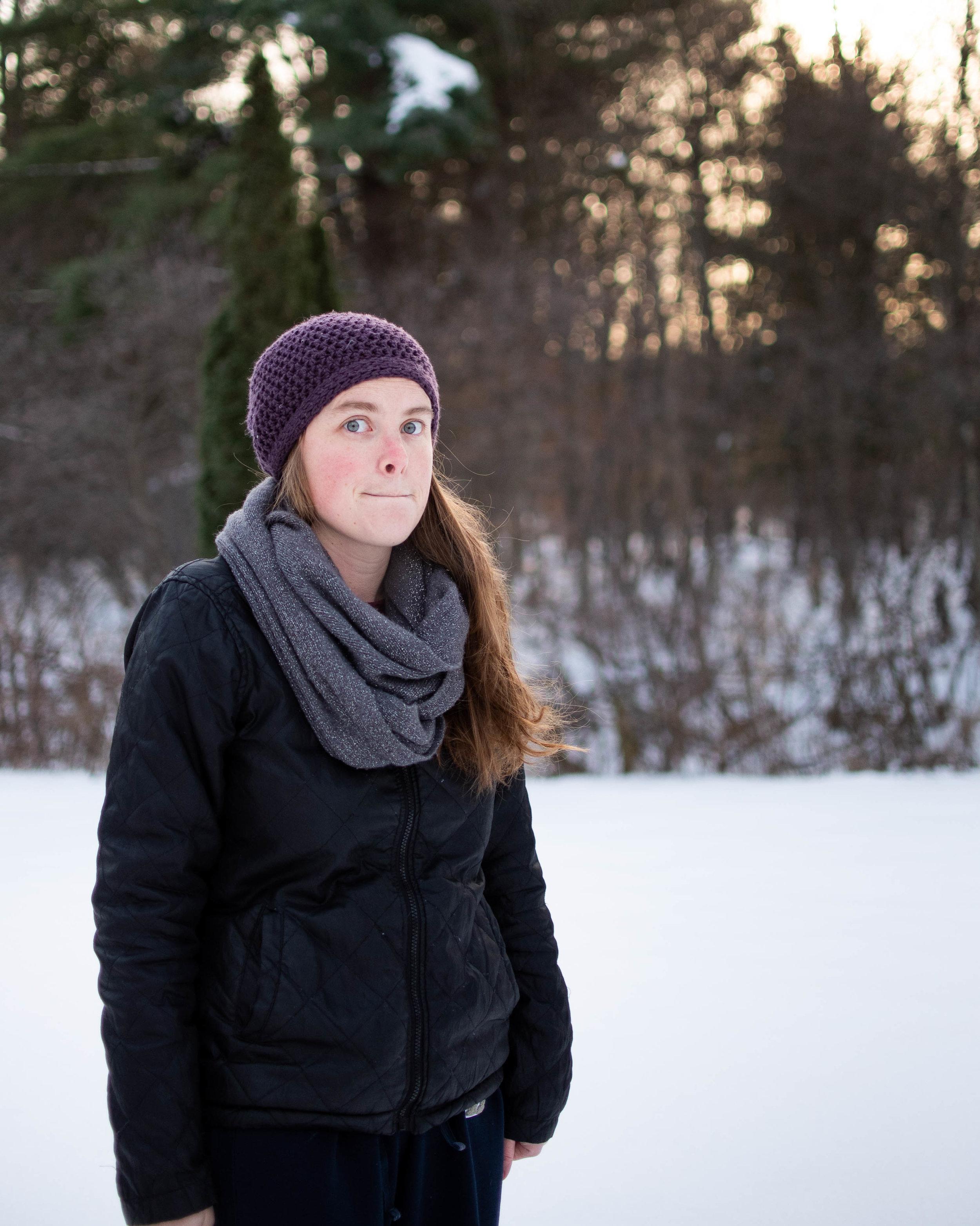 moriah hounsell winter portrait
