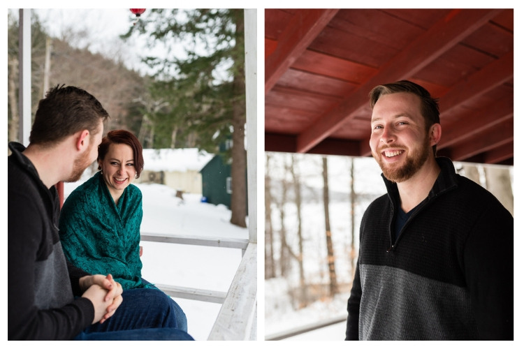 individual vermont winter portraits outdoors