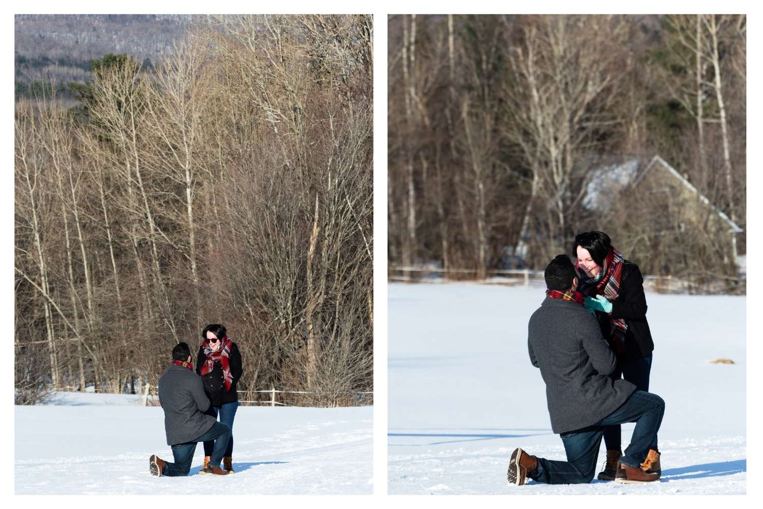 vermont surprise proposal outdoor