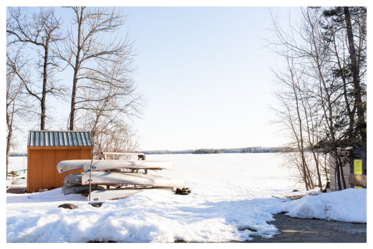 minnesota frozen lake
