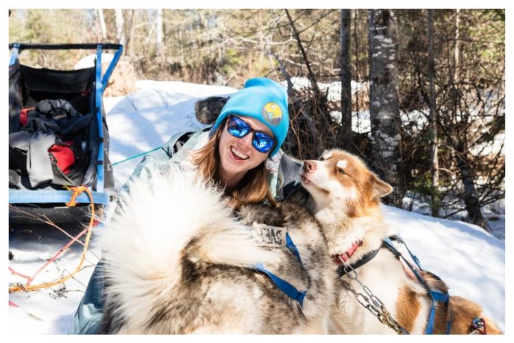 sled dog love
