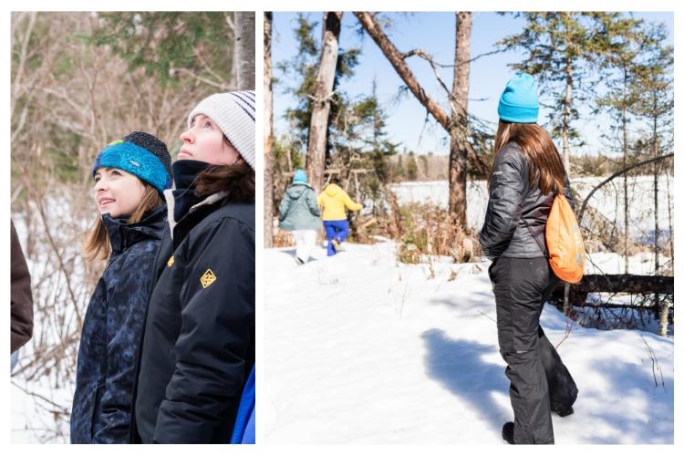 winter walk adventurher travel