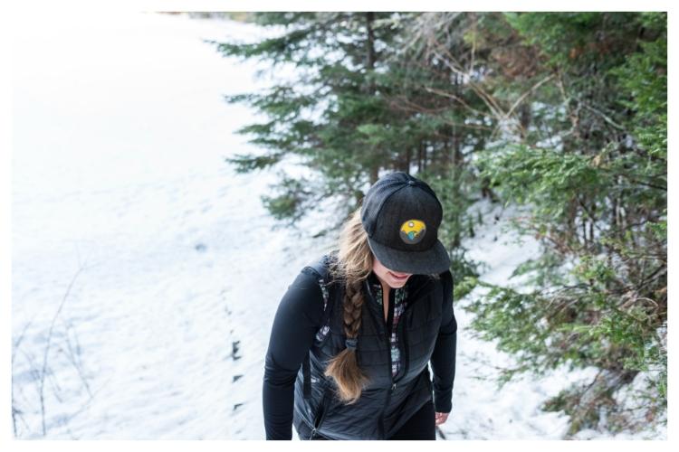adventurher travel winter walk
