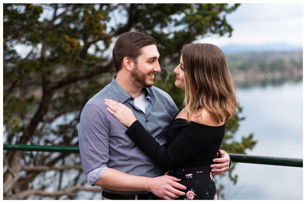 she said yes - proposal portrait session in burlington vermont