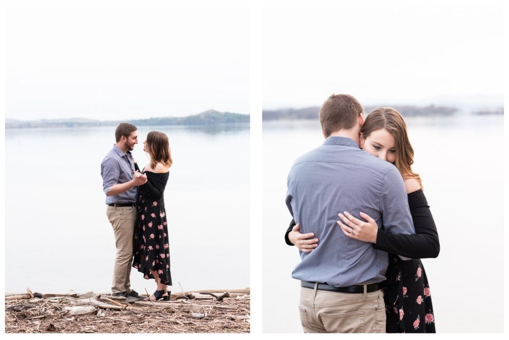 lakeside engagement in vermont