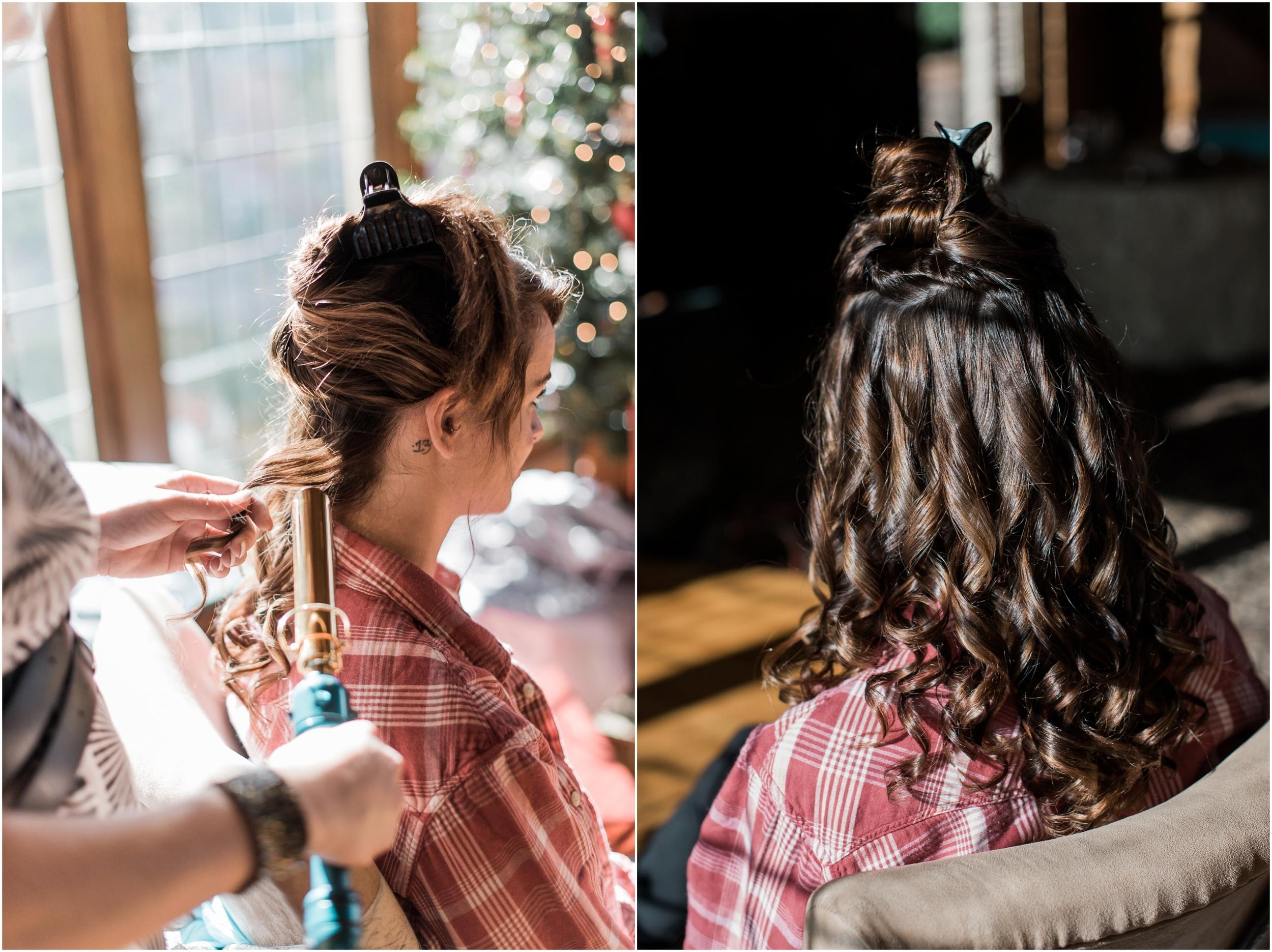 DIY Holiday Hair