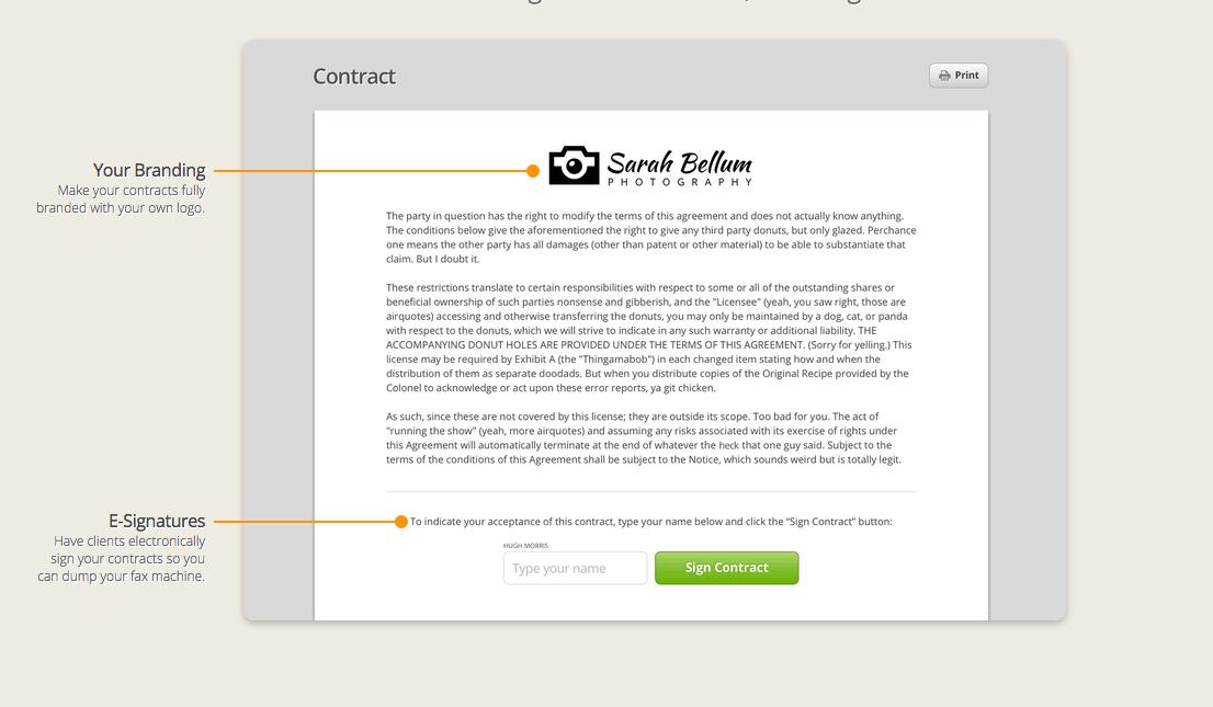 Digital Contracts -- 17hats
