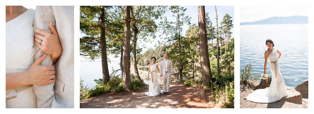 Bellingham Island View Chinese American Wedding