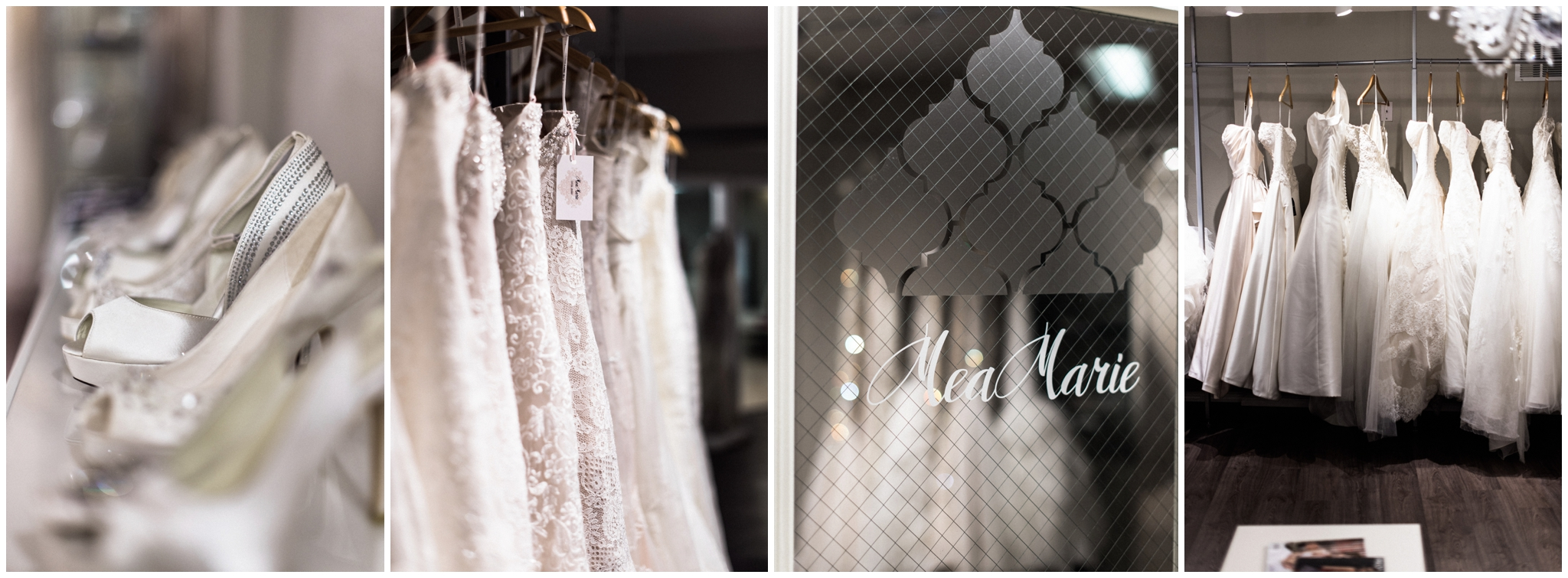 MeaMarie Bridal Atelier. Seattle Wedding Dress Shopping. B. Jones Photography. Seattle Wedding Photographer.