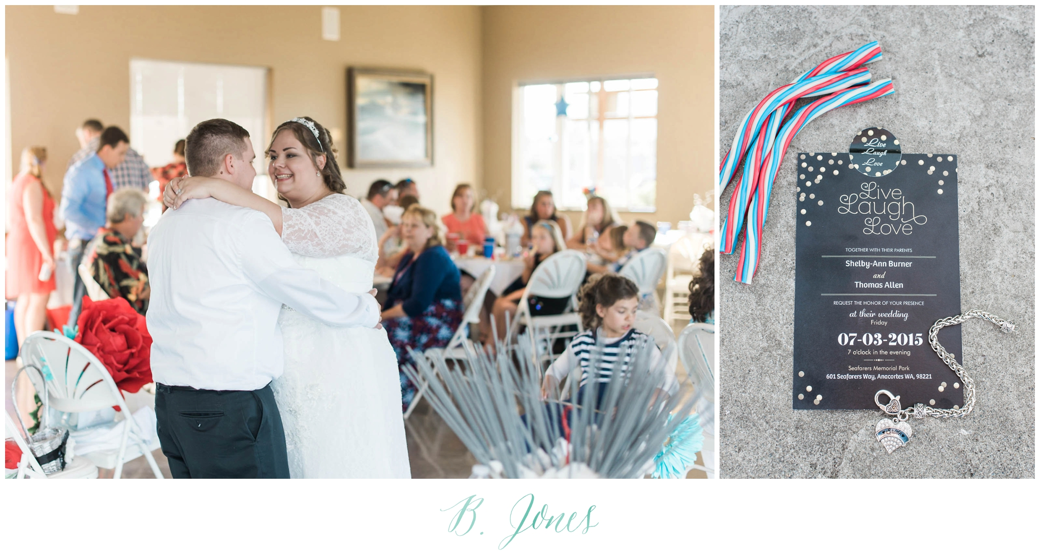 4th of july red white and blue seaside wedding. Anacortes. San Juan Island wedding. Orcas Island WEdding. Beach Wedding. Boat Docks. Seattle Wedding Photographer. Patriotic Wedding. Sparklers. Silk Flowers. Converse. Sparkler Exit. Nautical