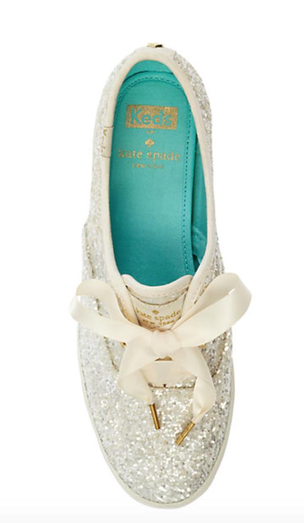 Glitter Wedding sneakers