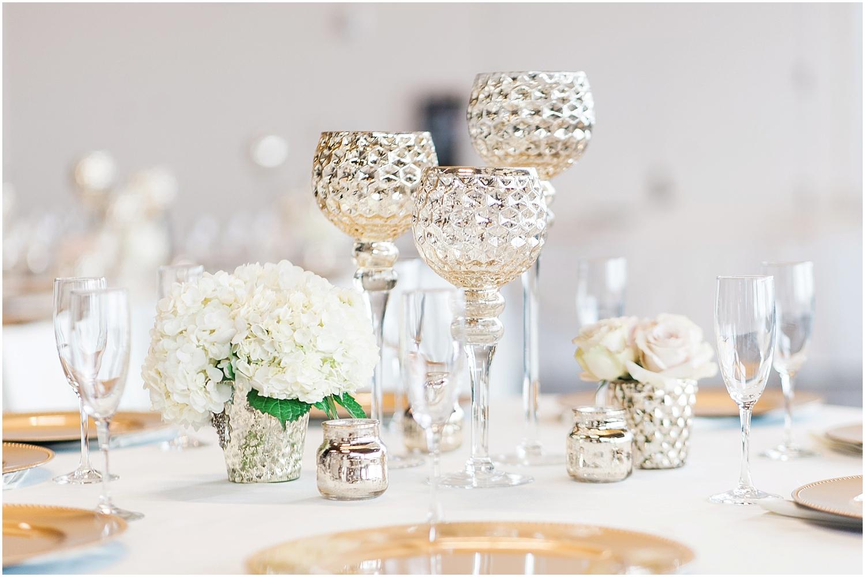 Mukilteo Rosehill Community Center Wedding. Winter Glitter Wedding. Blush, Champagne, Gold