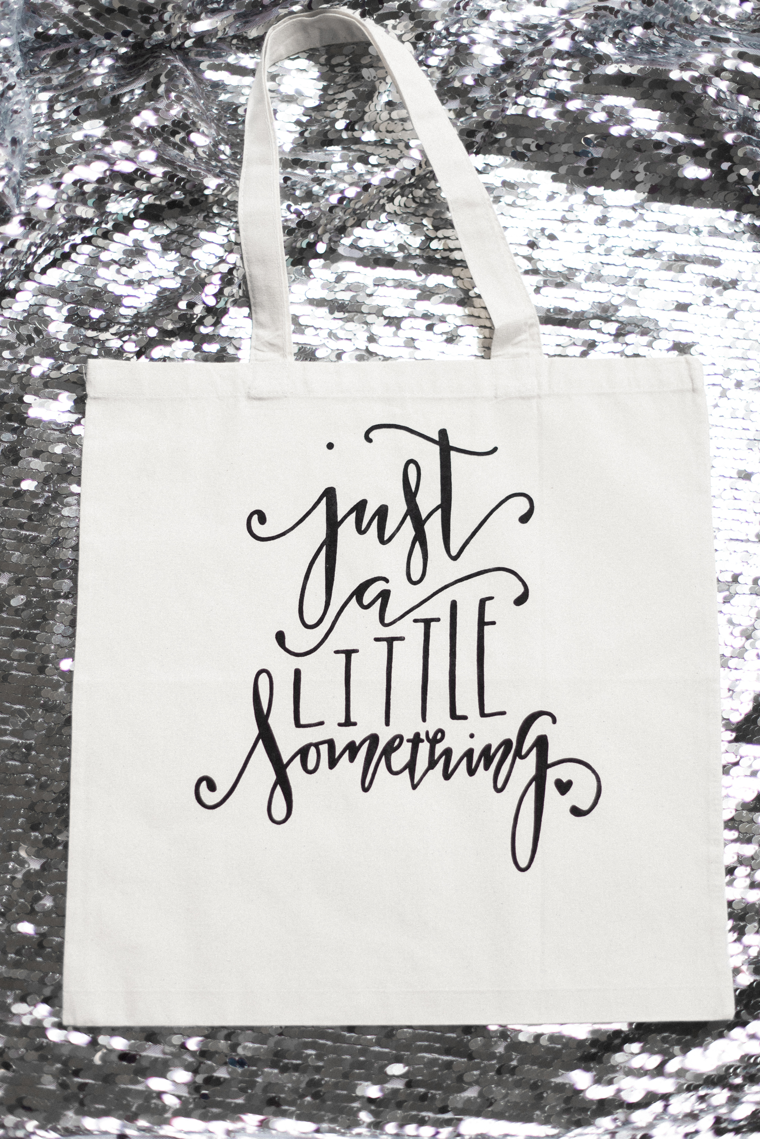 """""""Just a little Something"""" Tote Bag from the Dream State Shop"""