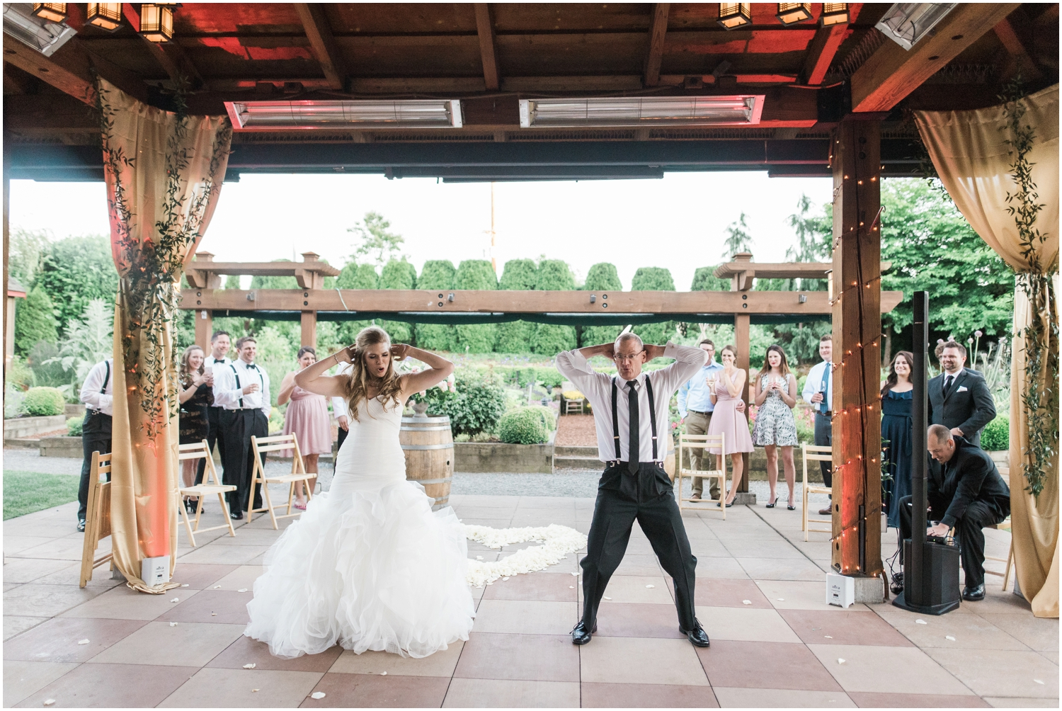 Hannah & Mikes Willows Lodge Wedding. Woodinville wedding Photographer