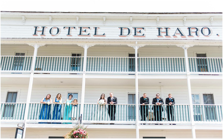 Roche Harbor Wedding