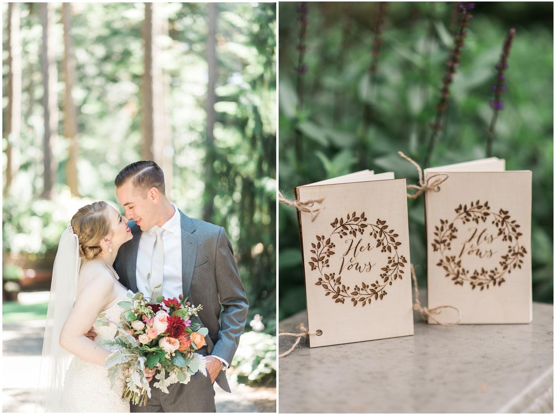 Seattle Wedding Photographer - woodsy wedding