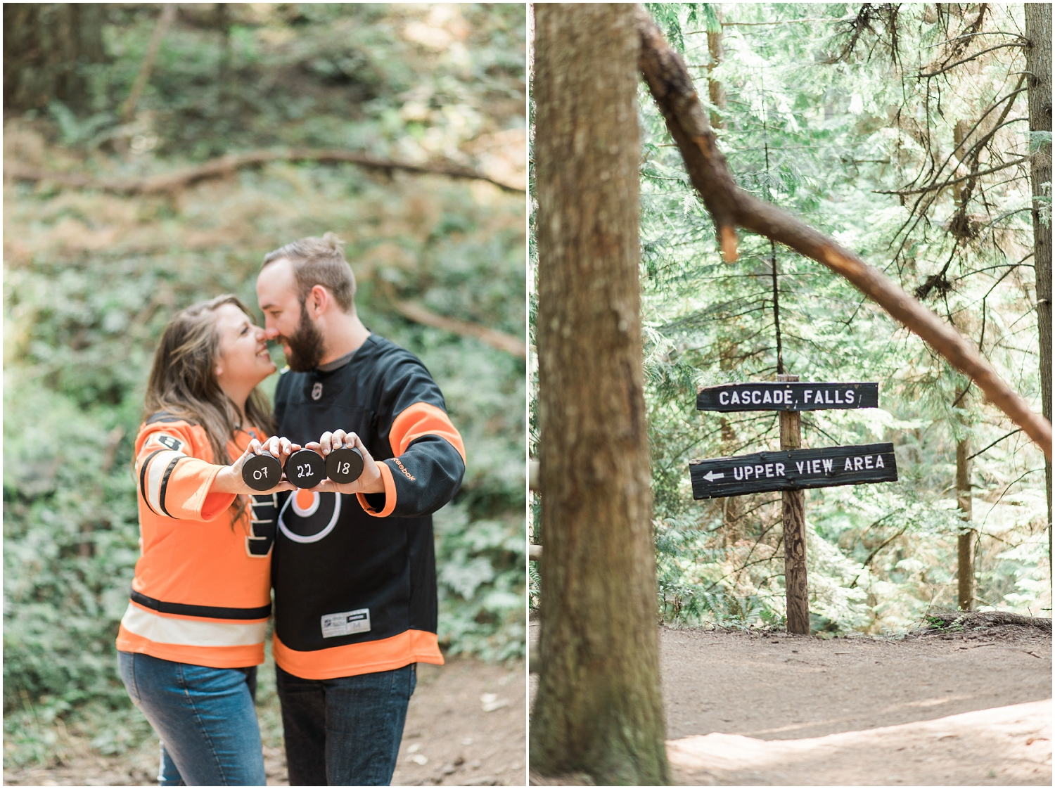 Orcas Island Nautical Adventure Engagement