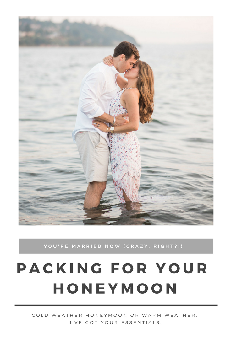 Packing for your honeymoon tips