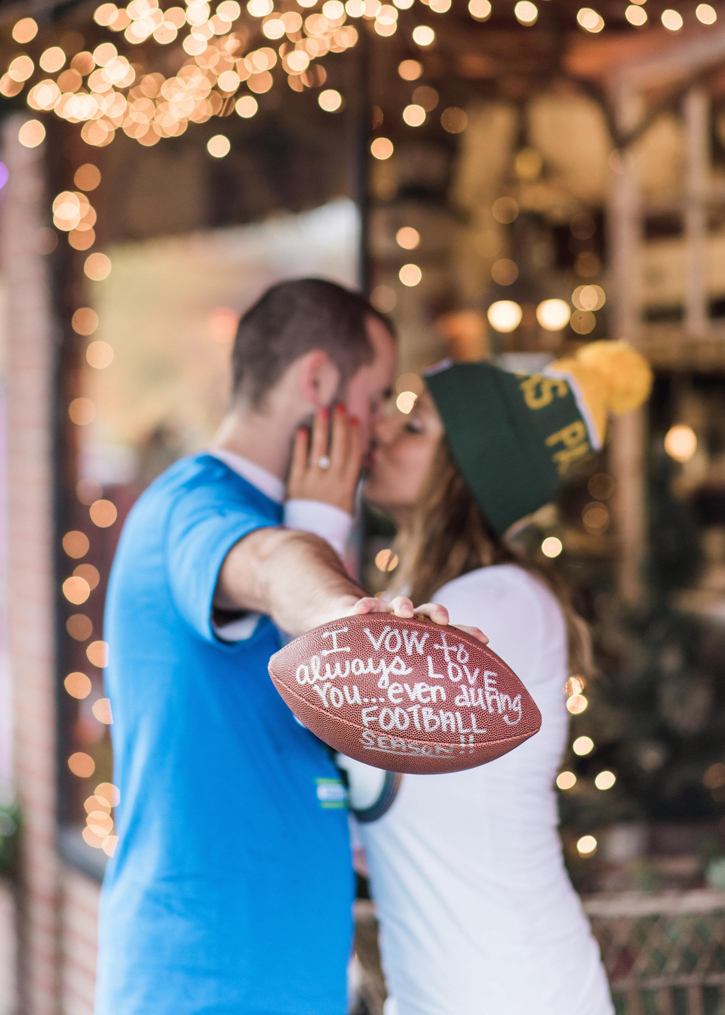 Seahawks Wedding and engagement inspiration. Seattle Wedding Pho