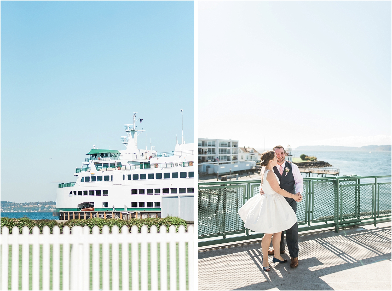 Mukilteo Ferry Wedding. Lighthouse Beach Park