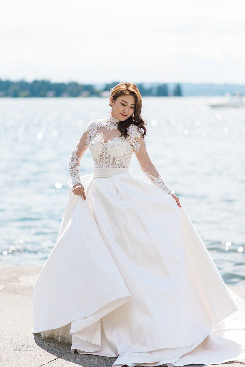 Copy of Woodmark Hotel Seattle Waterfront Wedding, Seattle Wedding Photo