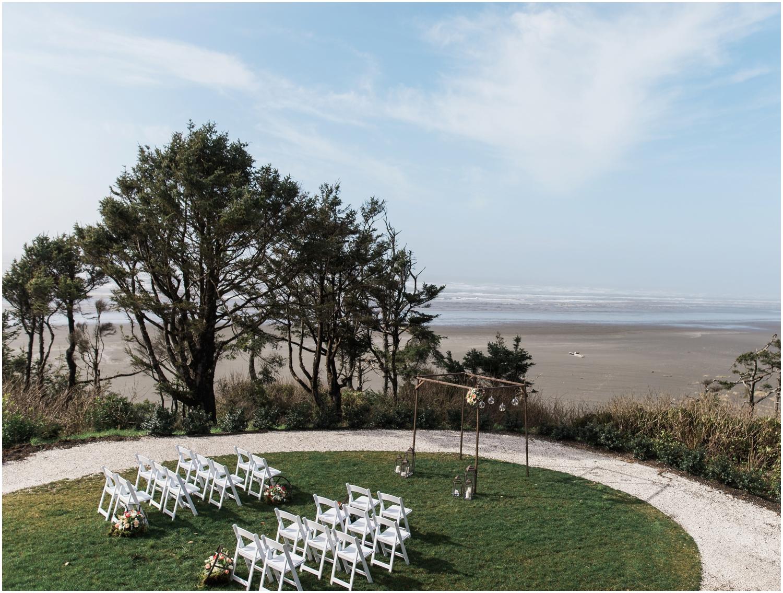 Seabrook Ceremony on the Bluff. A nautical fine art wedding.