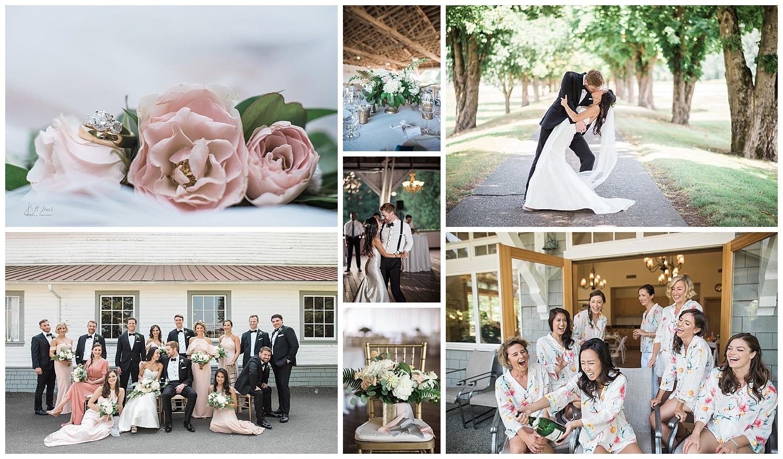 Carnation farms wedding photos
