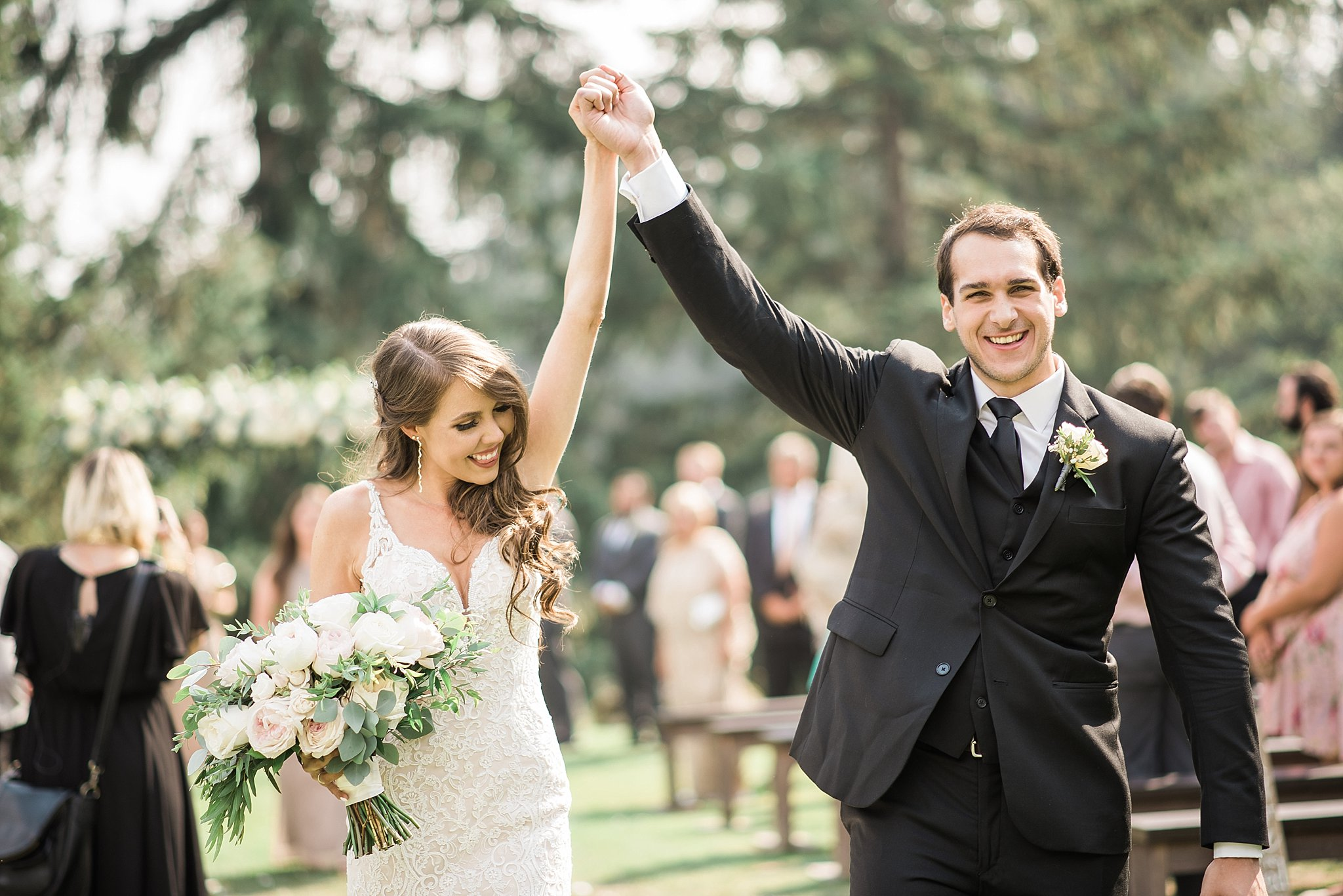 That just married feeling. Must have photo for your wedding day!