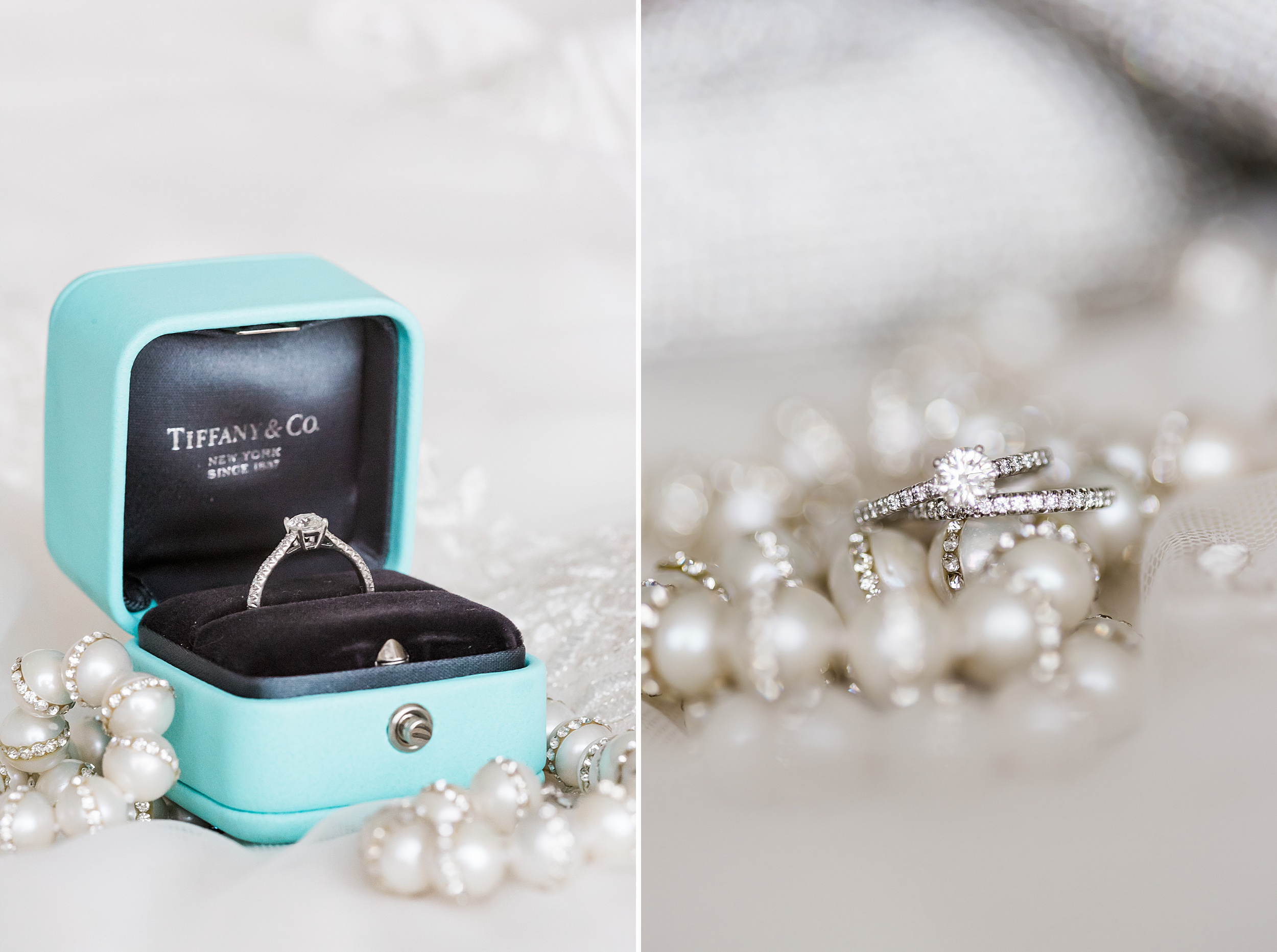 Little blue box Tiffany Engagement Ring, Classic. Woodmark Hotel