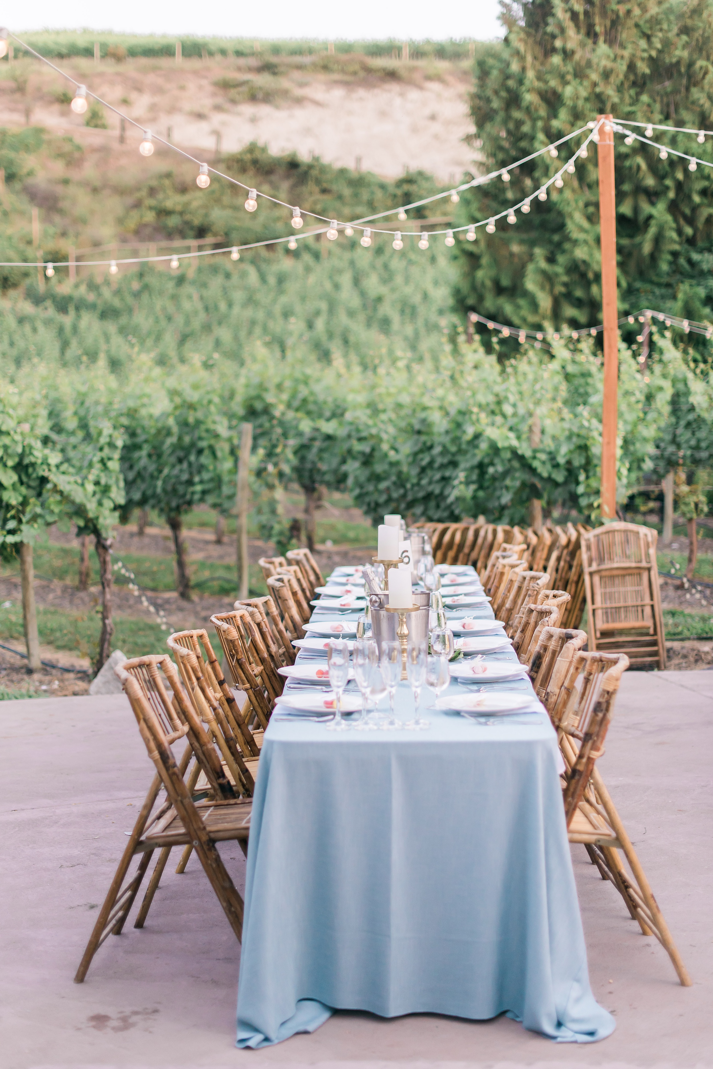 David & Kylie's Karma Vineyards Chelan Wedding.