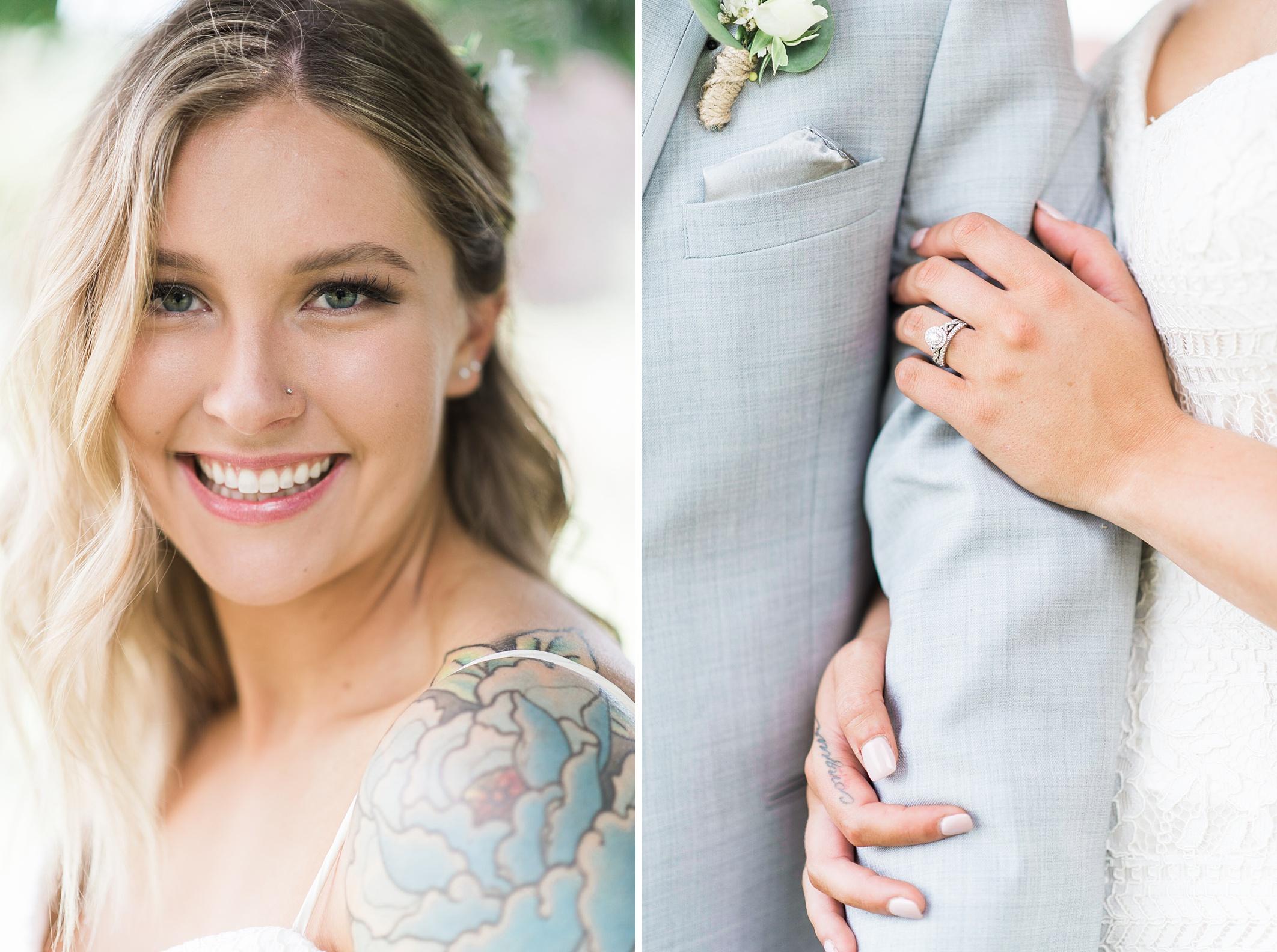 Craven Farm Wedding, Brady & Lyndsey Dalton. Firefighters. Rusti