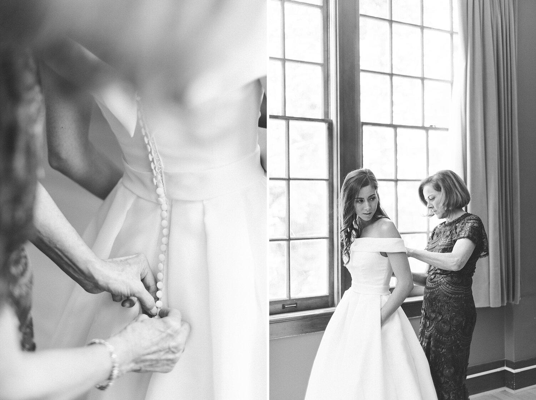 Rosa Clara Wedding dress at Villa Academy chapel. Seattle weddin