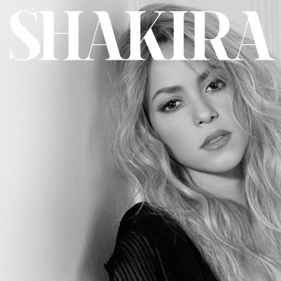 Shakira - Colombian and Lebanese descent