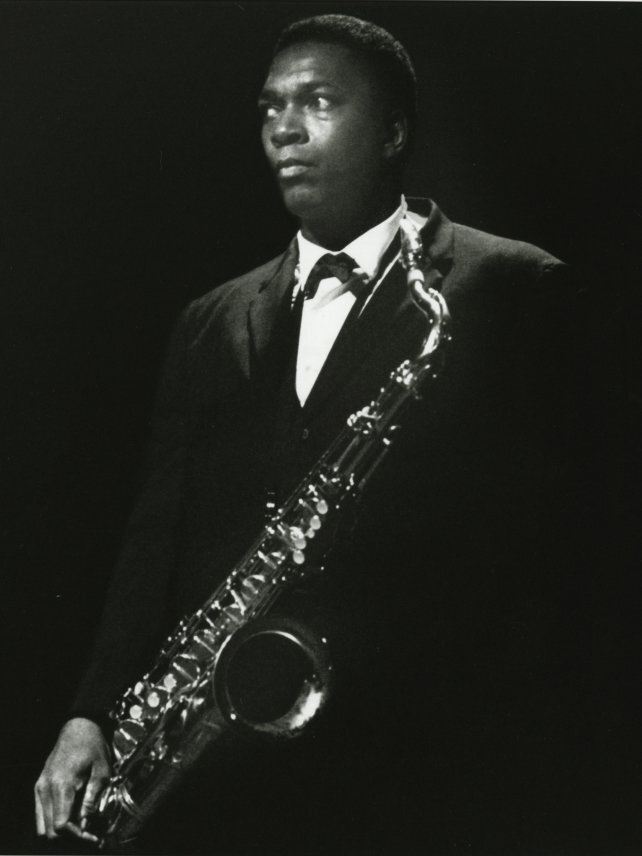 "john coltrane [image from npr]  album rec: ""Duke Ellington & John Coltrane ""   doc: ""chasing trane"""