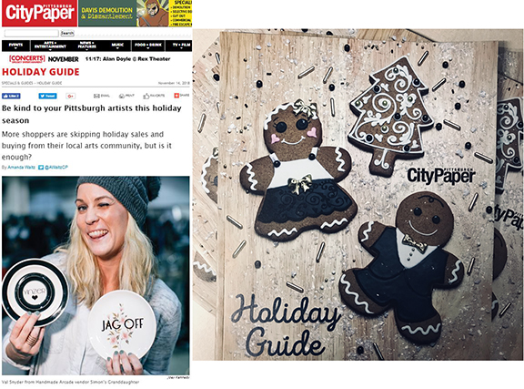 November 14-21 2018 :  Pittsburgh City Paper Holiday Guide