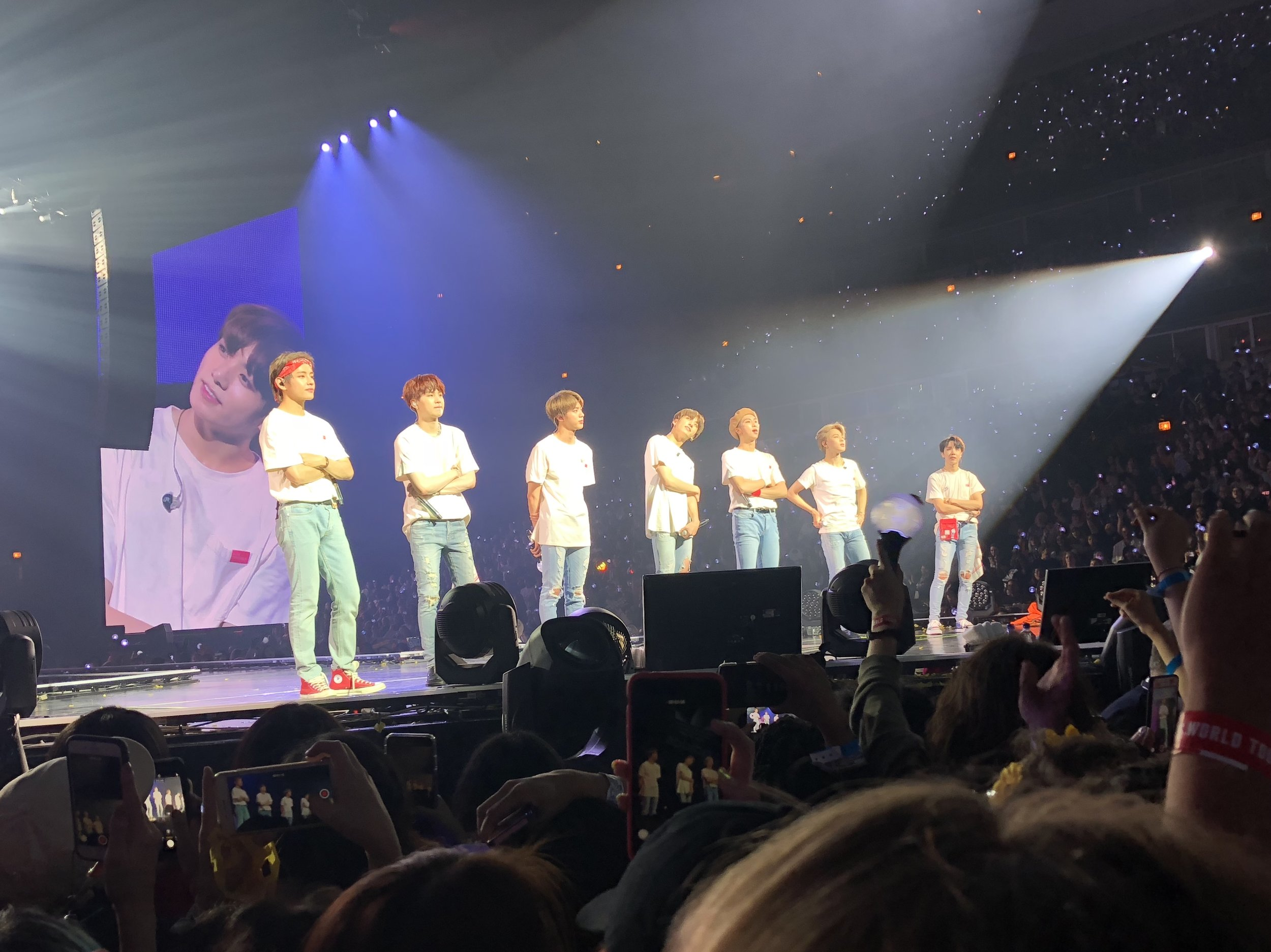 BTS in Chicago October 2, 2018 Photo by Alyssa T.