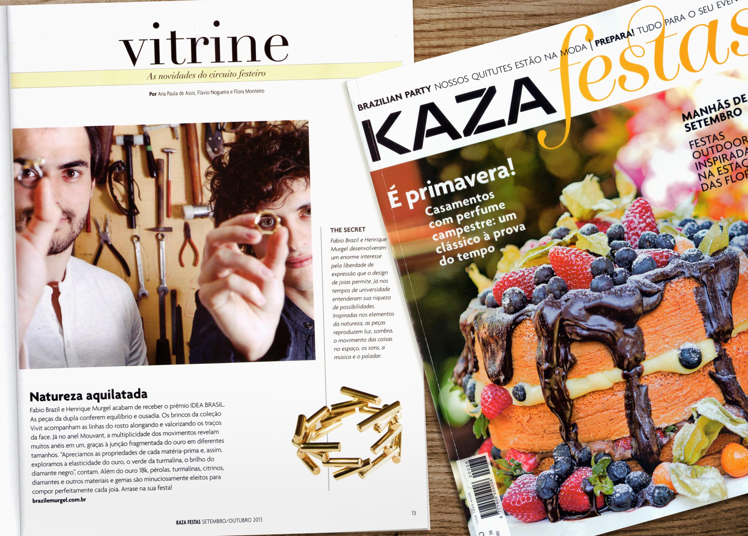 Kaza Festas nº38 (set/out. 2013)