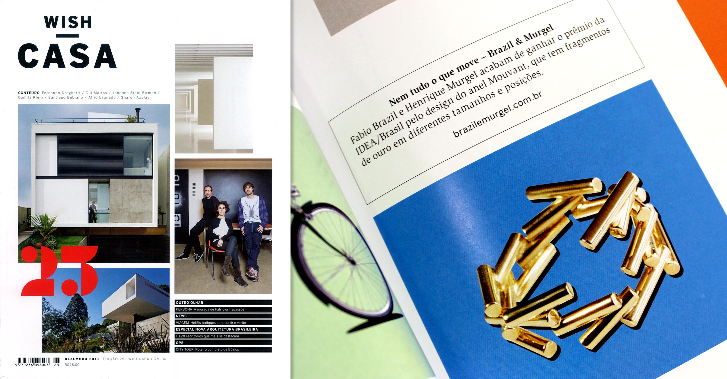 Edição 25 da Wish Casa · Dez. 2013