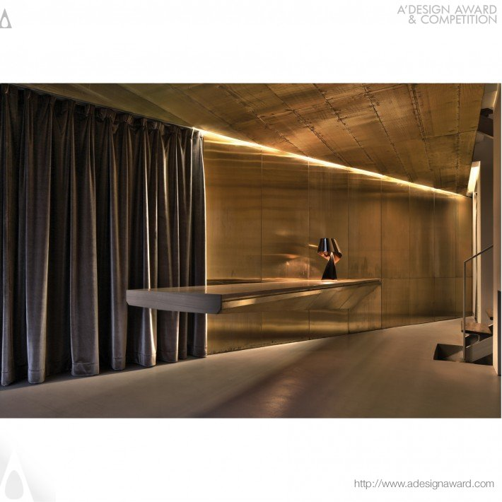 Beijing Artists' House Residential Interior