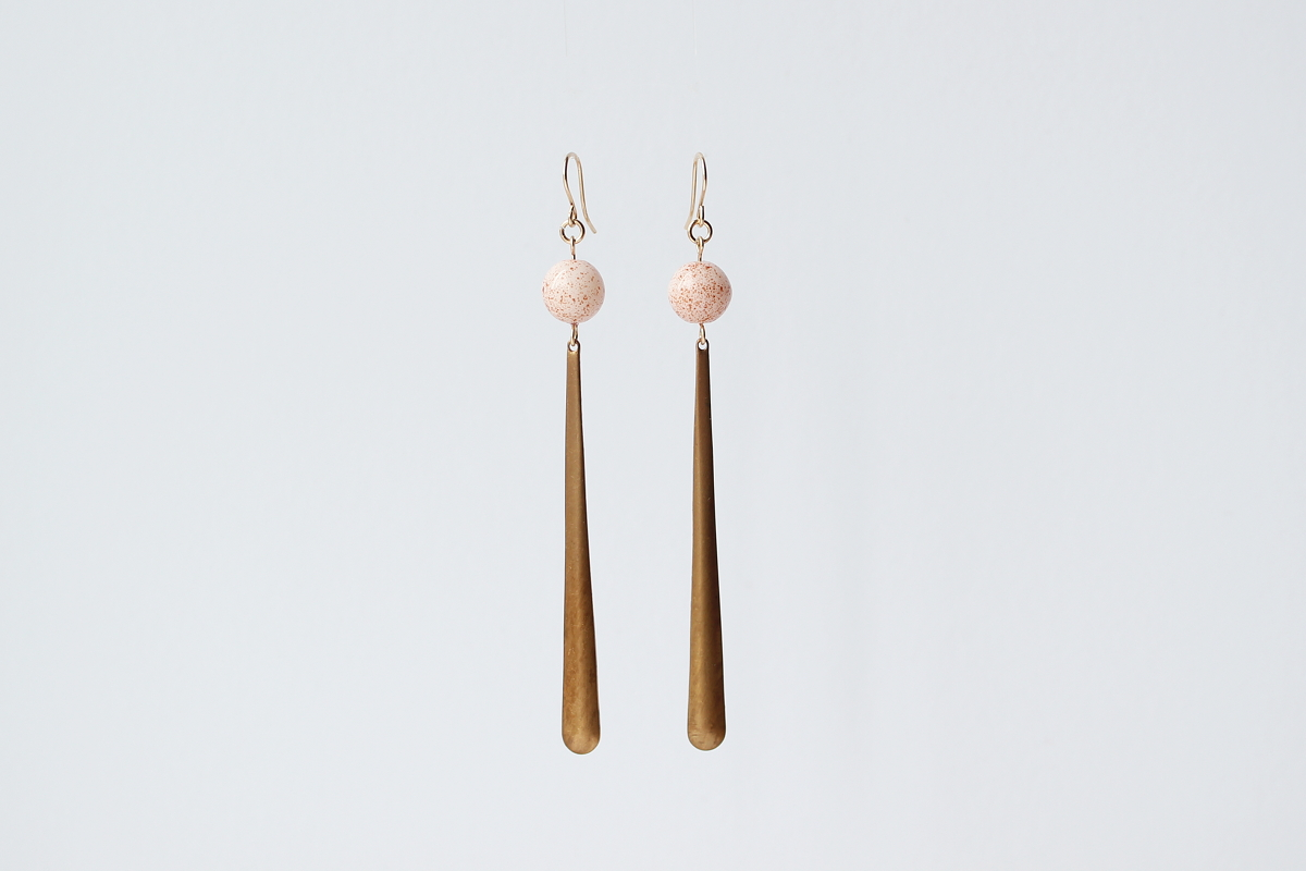 FORESTIERE paulina earrings in speckled pink.jpg