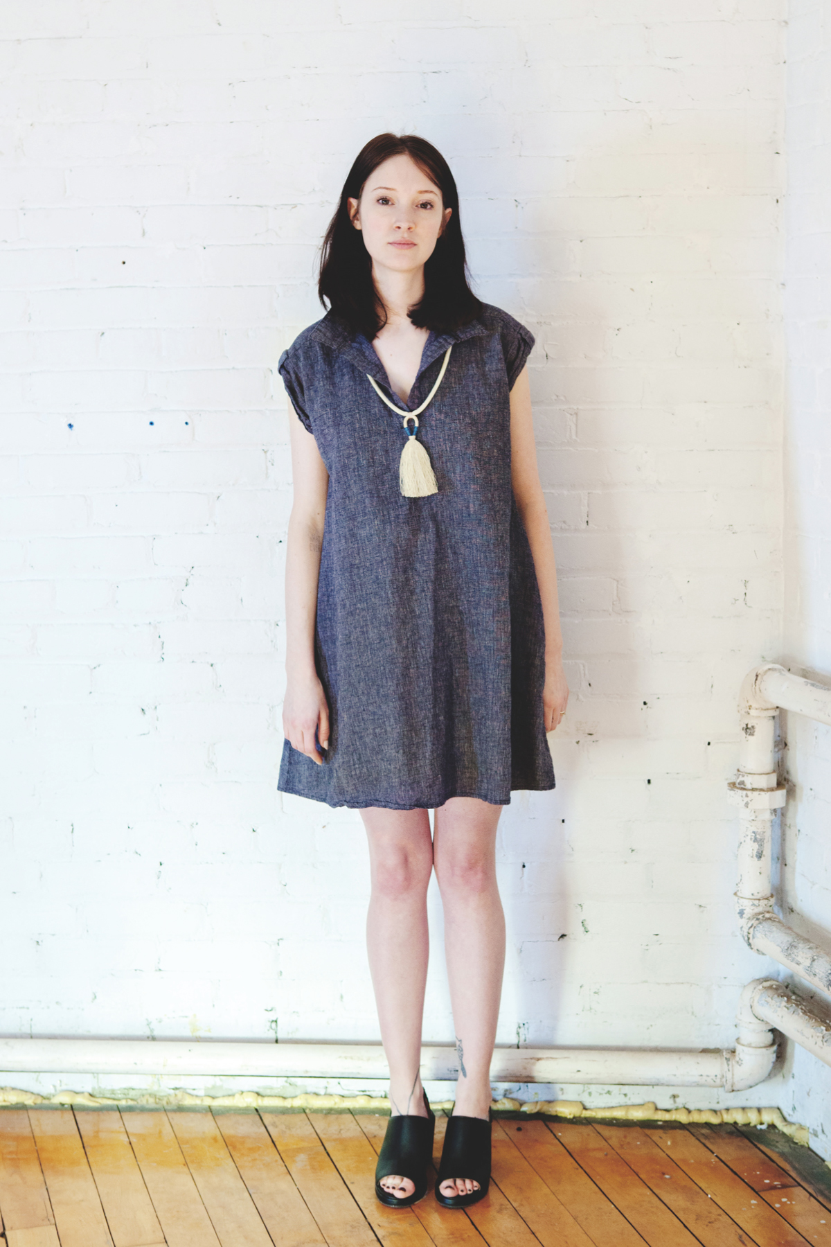 Amanda Moss Lakeshore Smock with forestiere Element necklace.jpg