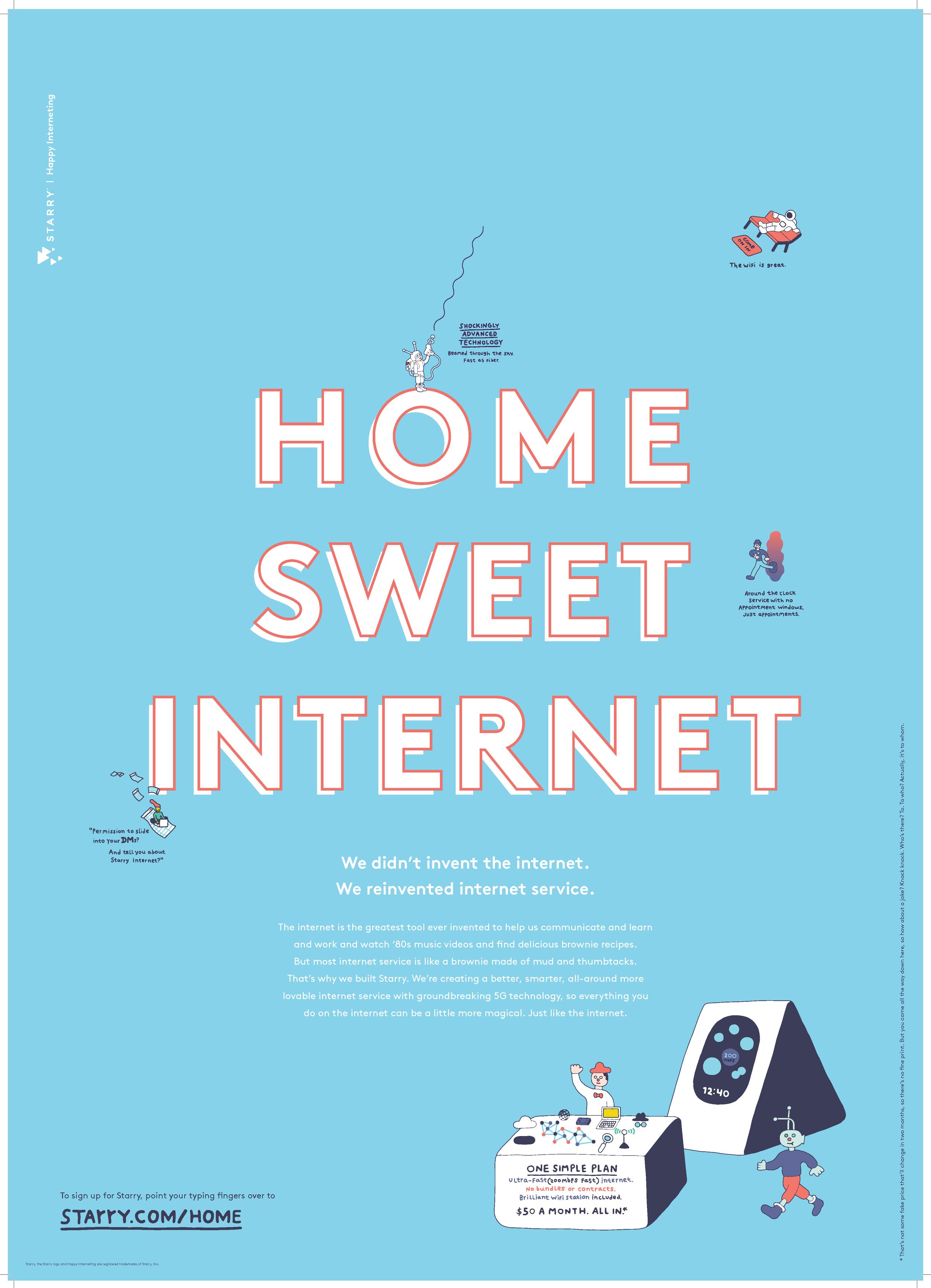 Home Sweet Internet — Back