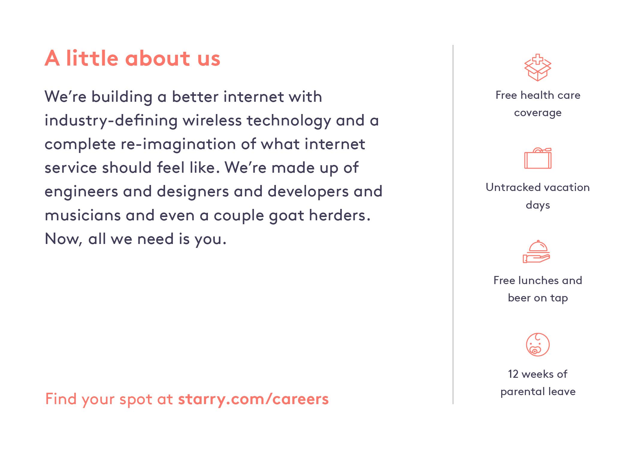 Career Fair Postcard —Back