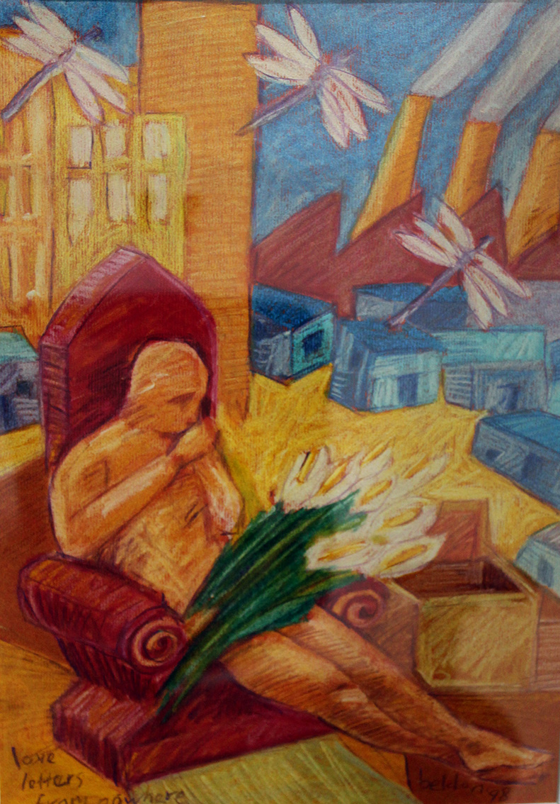 LOVELETTERS FROM NOWHERE 1995  Pastel