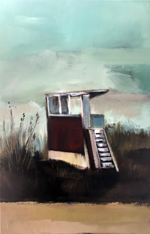 Hotwater Beach, 2017 (SOLD)
