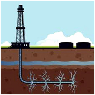 Fracking wells reach below groundwater      Source:     The Week