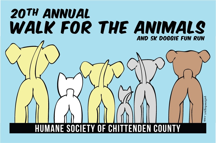 Humane Society Greater Burlington Walk for the Animals